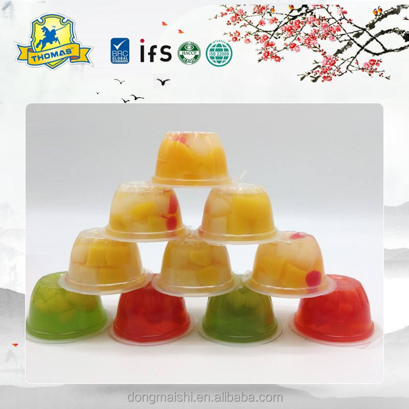 Jelly Pop Candy <span class=keywords><strong>Palm</strong></span> Behoudt Natuurlijke Fruit Jelly