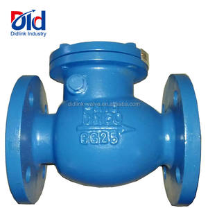 Wholesale Selected Product GG25 Flange bolted bonnet Swing Iron Check Valve