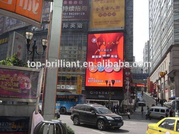 Digital exterior llevó la exhibición del cartel smd3535 p6 p8 p10 p16 p12