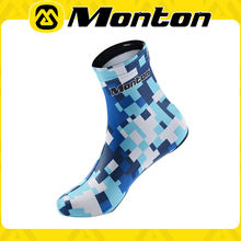 breathale and comfortable blue Monton cycling shoe cover