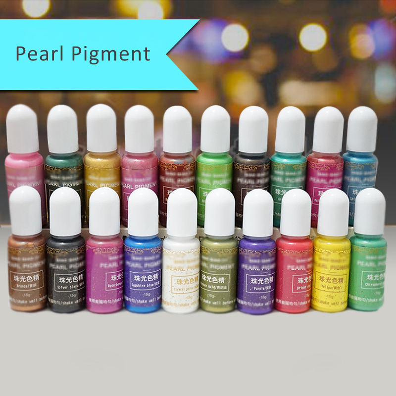 Liquid Pearl Resin Colorant Pigment for DIY Making Crafts Jewelry