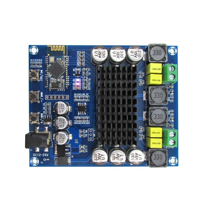 XH-M548 BT dual channel 120W digital amplifier board TPA3116D2 BT digital audio amplifier board
