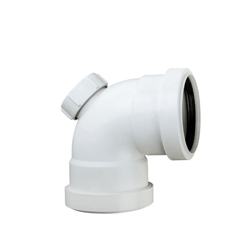 110mm HTPP HDPE SWR rubber ring push fit connection low noise soundproof Sewage drainage water plastic pipe fitting