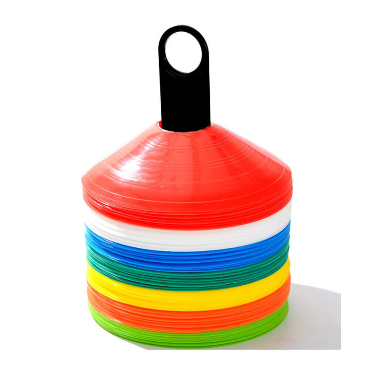 Sport Colorful Speed Training Football Agility Cone Plastic Marker Cones