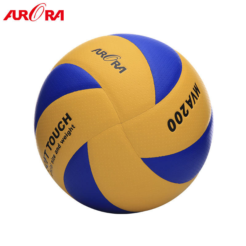 high-quality custom 8 panels size 5 MVA200 PU official match and training volleyball ball