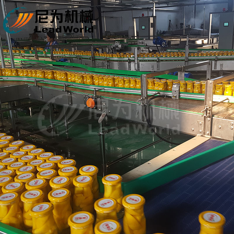 Warehouse Price Fruit Canned Peach Production Line