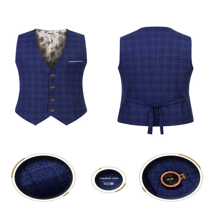 The Newest Model Men Casual Suit Fashion Light Down Vest Clothing Wholesale Packable Waistcoat