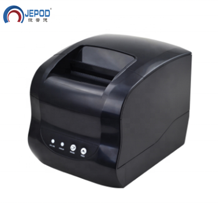 JEPOD XP-365B Xprinter 20-80mm Bluetooth Thermische Label Drucker Telefon Drahtlose Thermische Barcode Drucker mit Android/IOS /Android