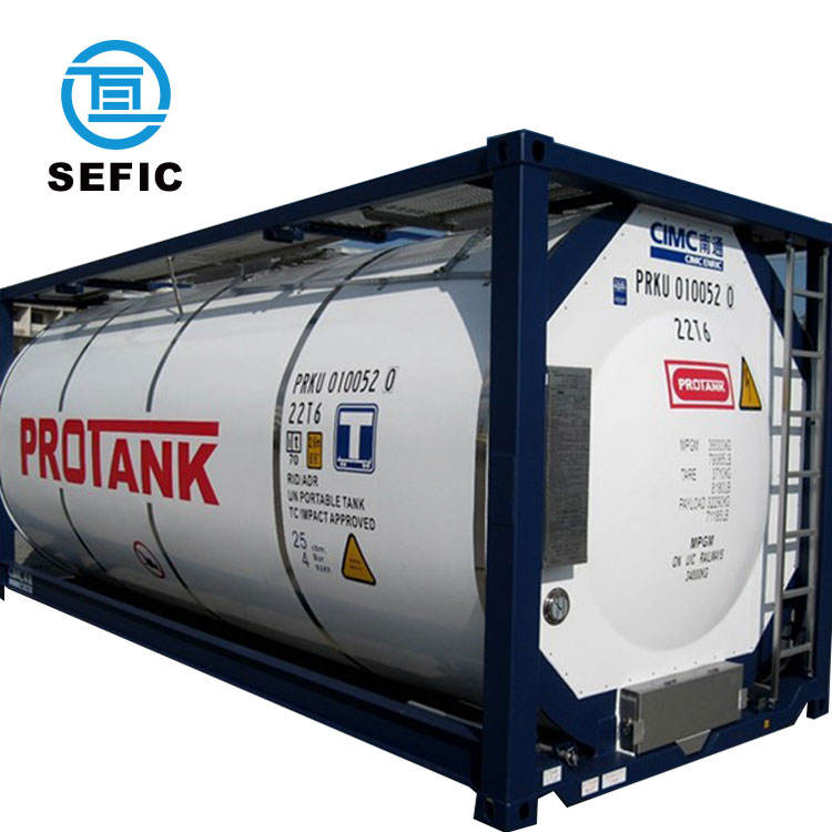 Nieuwste Rvs CFL-20/0.6 Iso Lng Tank Container
