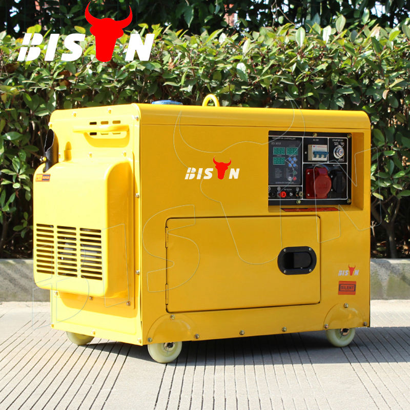 BISON(CHINA) 5kva king max single cylinder diesel generator price in India