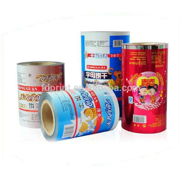 Food Grade Snack Use Plastic Bopp Lamination Packaging Film For Chocolate Bread