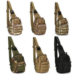 High Quality 600D Outdoor Bag Military Bags Tactical chest Pack Backpack Shoulder Camping Hiking Bag Camouflage Hunting Backpack