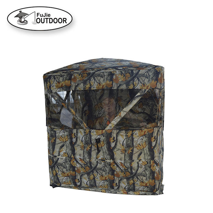 Stock Hun Style Camo Hunting Blind Tent Factory