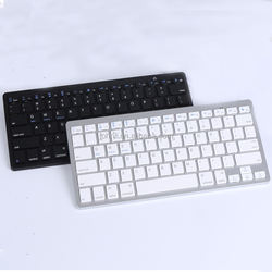 Factory Wholesale Slim ABS Wireless Keyboard for apple samsung windows for Macbook Keyboard