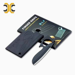 EDC foldable multifunctional tool knife business card