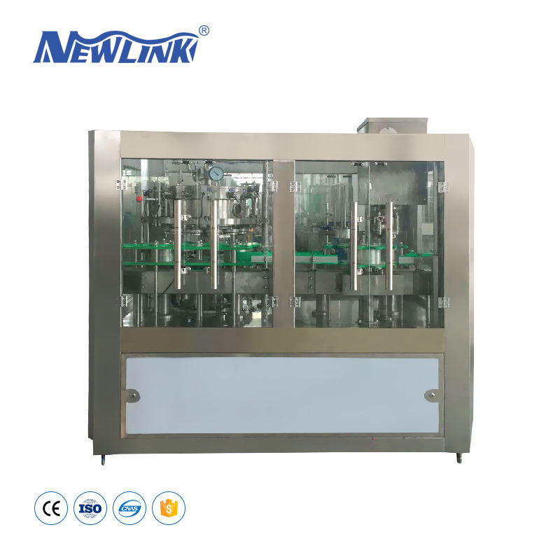Beer Glass Bottle Filling Machine/Can Seaming Manufacturer/Soda Water Making for Canning Line Machine
