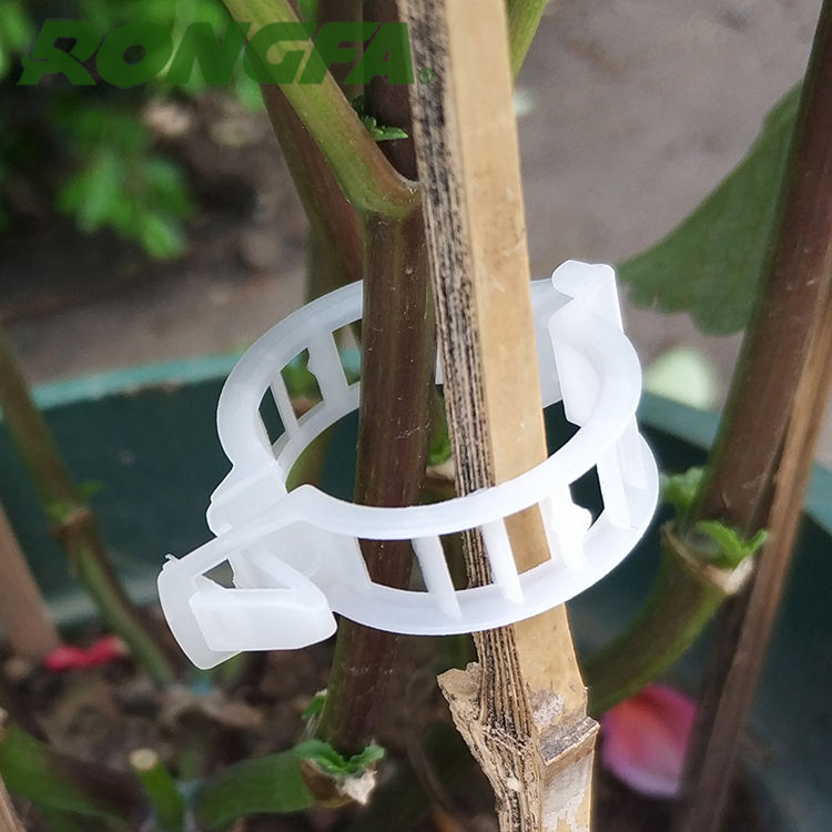 Plastic tomato clip for agriculture garden plant use