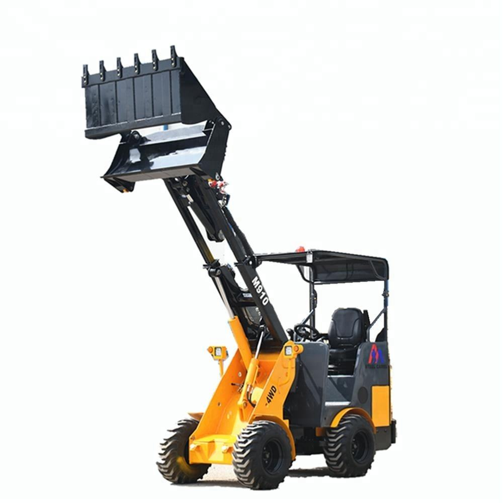 Better Quality and Price STEEL CAMEL M910 mini hydrostatic telescopic loader ready to ship