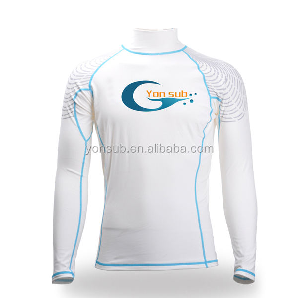 lycra rash vest with sun protection