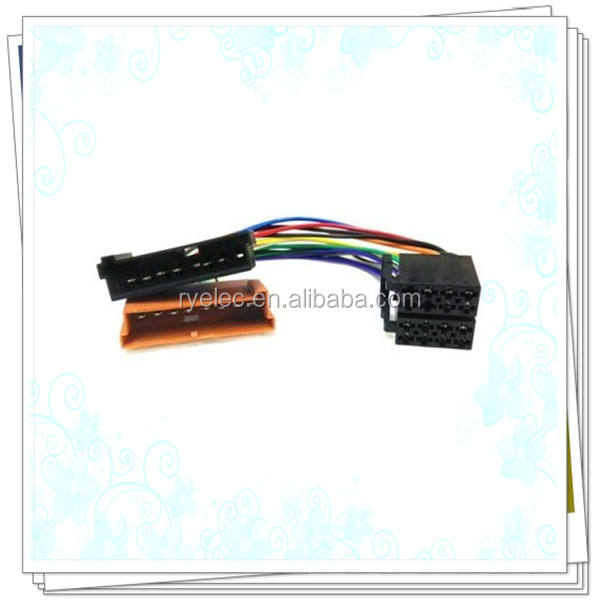 Car Stereo ISO wiring harness adaptor