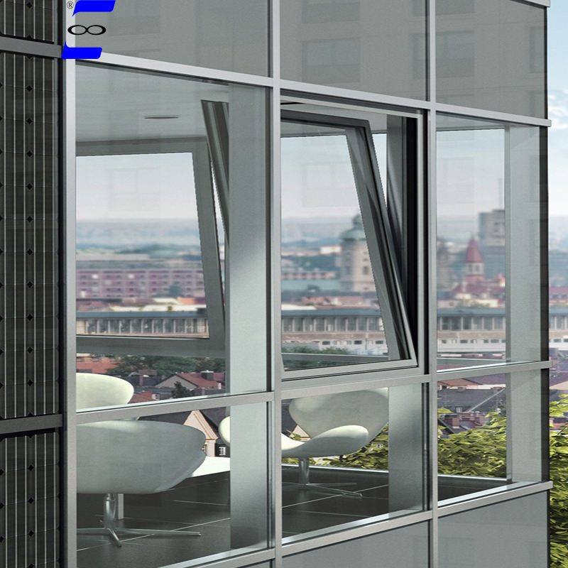 Unitized glass curtain wall