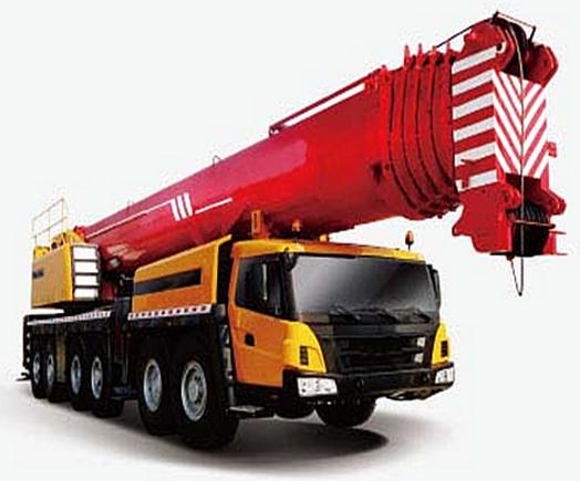 350 Ton Mobile Crane , truck crane, All-terrain Crane SAC3500 truck mounted crane hoisting machinery