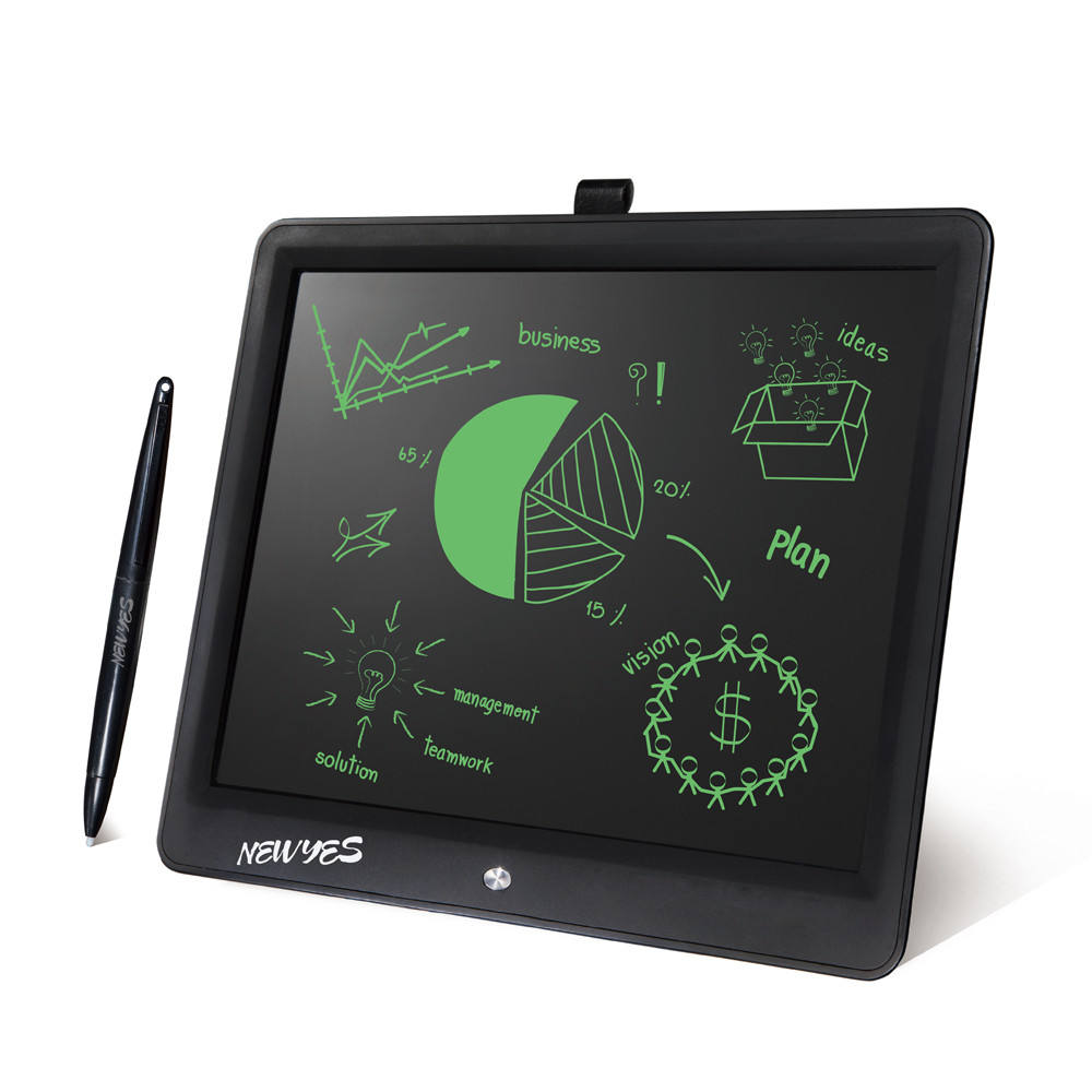 Newyes 15 Inch Kids Lcd Magic Writing Board Fridge Doodle Pad Magnetic Drawing Board