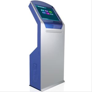 17 pouces 19 pouces 21.5 pouces Requête machine kiosque numérique signalisation tactile interactif kiosque avec imprimante