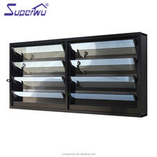AAMA openable plantation shutter with wood color frame