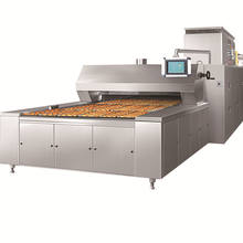 Industrial gas conveyor pizza tunnel oven