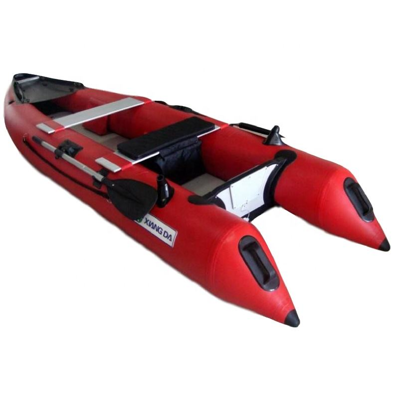 CE Certification and PVC Hull Material Best Inflatable Kayak for Fishing