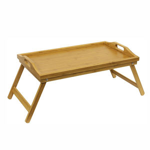 large bamboo lap tray laptop tray bed tray with folding leg