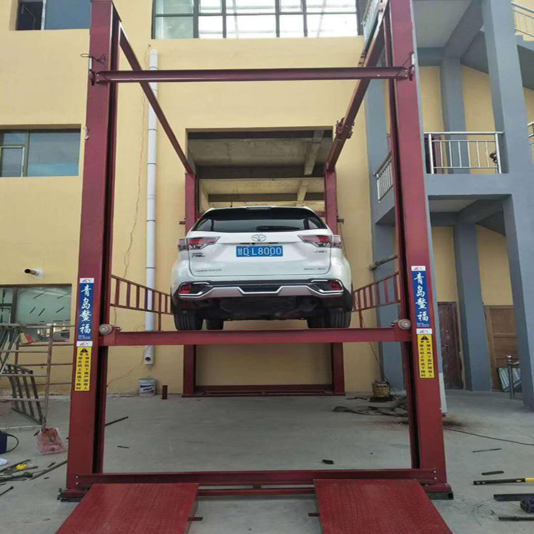 QSJY3-4B Hydraulic car lift platform use for car parking and car elevator