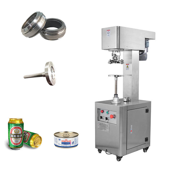 Bottle Cap Seal Crimping Machine Manual / Hand Press Can Sealing Machine / Pedal Sealer for Cannery