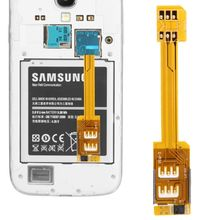 Hot Selling Dual SIM Card Adapter for Samsung Galaxy SIM card adapter for Note III Factory Supply