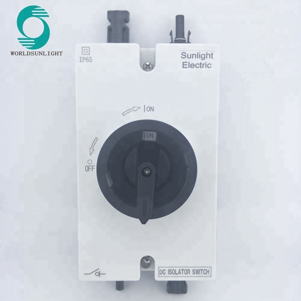 TUV CE IEC Approved 3 phase dc 1000v battery solar dc isolator switch