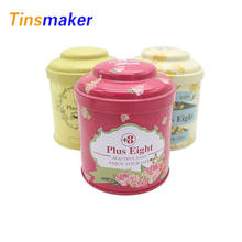 factory custom printed food grade tea tin packaging container  coffee gift jar boxes wholesale