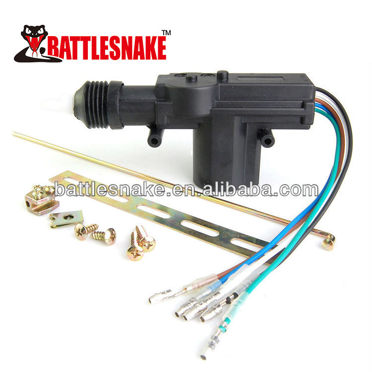 2 wire 12v car universal auto power door lock actuator motor universal for any car
