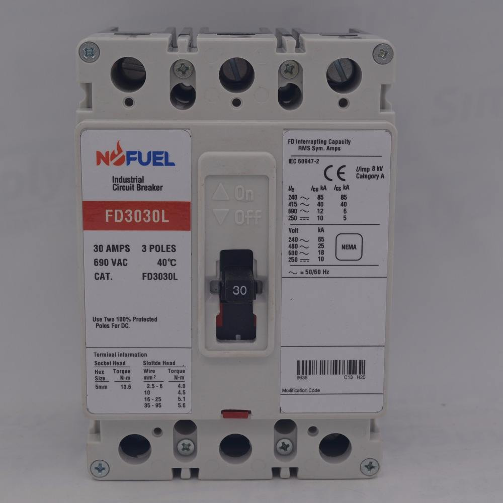 Moulded Case Circuit Breaker FD Series fit for Cutler Hammer Westing House FD3030