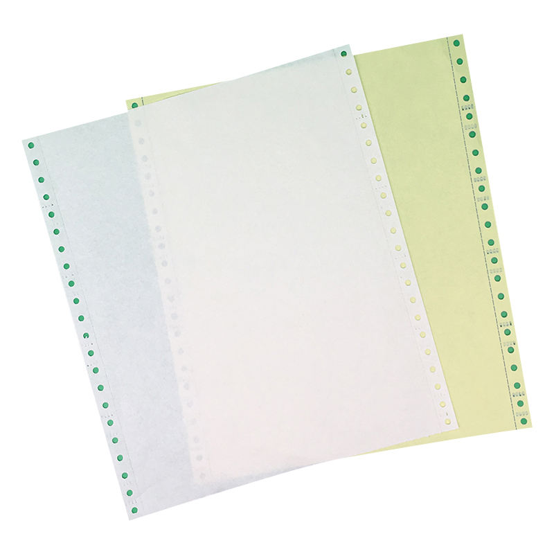 high quality wholesale 2/3/4 ply carbonless continuous paper computer print paper
