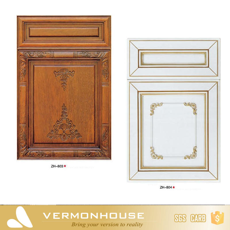 Vermont Classical Design Ash Cherry Oak Solid Wood Kitchen Cabinets Doors