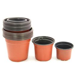 many size plastic flowerpot grow seedlings garden Seedling pot