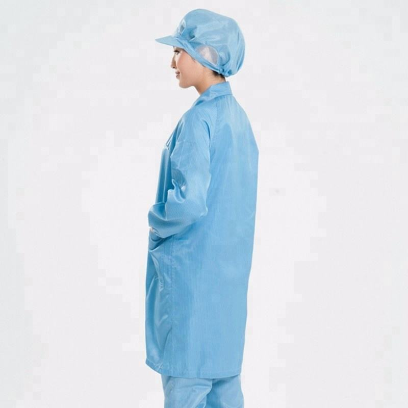 Clean room uniforme grembiule di lavoro