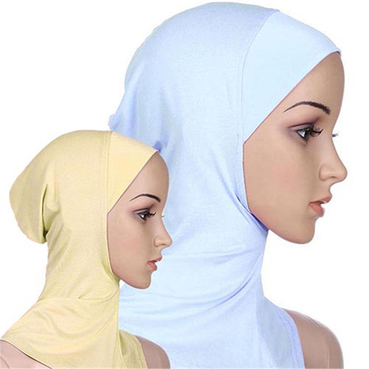 Hot-Selling High Quality With Inner Heavy Instant Muslim Hijab Scarf