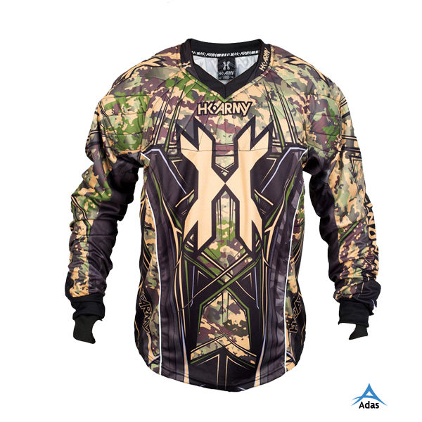 Personnalisé allover impression paintball jersey sublimation paintball jersey