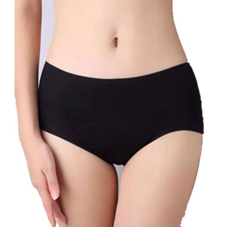 New Design Breathable Women Period Underwear Ladies Menstrual Panties Anti-leaking Water-proof extended crotch Panty