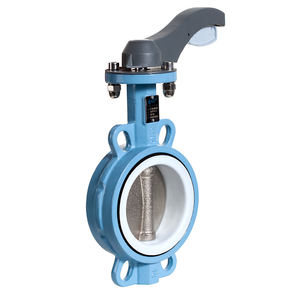 Factory Price Manual Operated Stainless Steel Butterfly Valve,4 Inch Butterfly Valve, Lever Wafer Type Butterfly Valve