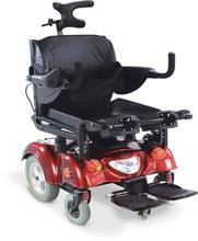 KL159L power standing wheelchair aluminum frame fixed armrest adjustable footrest