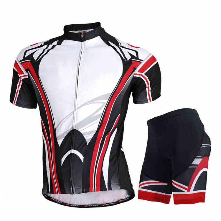 Latest club customized Design logo bike jersey uniform wear sportswear cycling clothing set