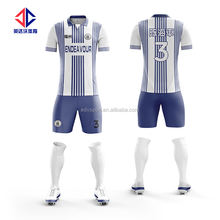 Team football clothes sublimated soccer clothes
